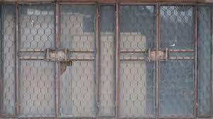 glass door texture. Metallic Door With Glass Texture O