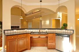 Universal Design Kitchen Cabinets Wheelchair Accessible Multigenerational House Plan Raleigh