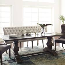 dining room table with upholstered bench. Room · One Allium Way® Grateron Upholstered Entryway Bench Dining Table With Pinterest