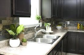 stone kitchen backsplash dark cabinets. Perfect Dark Stone Kitchen Backsplash Images Faux How To Nest For Less Dark Cabinets Throughout Stone Kitchen Backsplash Dark Cabinets M