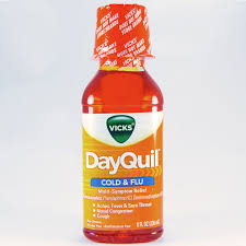 Tylenol Cold Dosage Chart Dayquil Cold Flu Liquid Dosage Rx Info Uses Side Effects