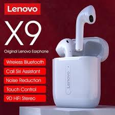 <b>original lenovo xt91 tws</b> earphone wireless bluetooth headphones ai ...