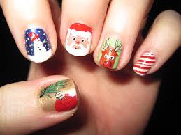 Christmas ~ Candy Cane Christmas Nails Image Ideas Holiday Nail ...