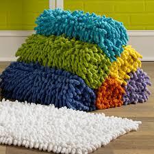 cotton chenille bath rugs