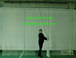 flexible led curtain display p40 outdoor