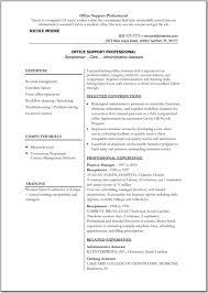 Resume Template For Word Word Resume Samples Targergolden