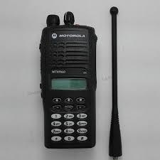 motorola handheld radio. 16 channel motorola mtx960 handheld walkie talkie with display radio i