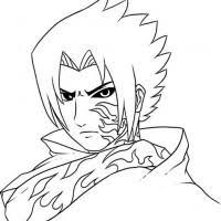 Naruto Coloring Pages Sasuke Murderthestout
