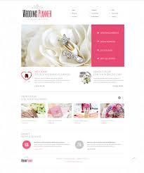 Wedding Planner Website Template 40649 Wedding Planning Website Free