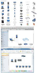 network diagramming tools design element basic network apple wireless router setup at Apple Network Diagram