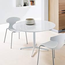 chic dining room furniture metal legs bar extendable modern white round table dark brown wood cedar