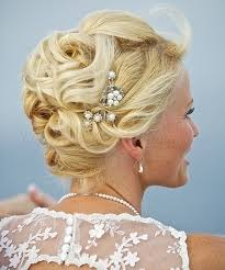 bridal updo for beach weddings