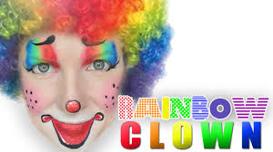 easy clown face painting makeup