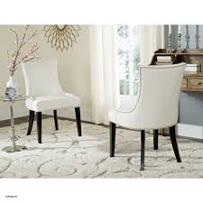 fabric dining chairs top safavieh en vogue dining lester white leather side chairs set of 2