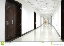 office hallway. Curved Office Hallway