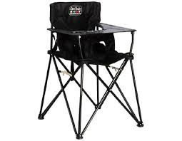 baby portable high chair 59 let your little one eat in style wherever you go this sleek black chair is easy to stash when you re not using it and