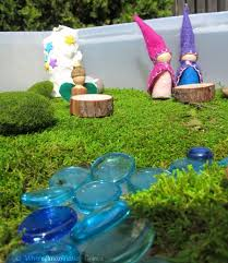 fairy garden and gnome small world play