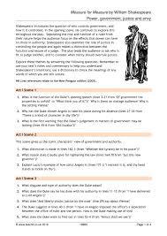 ks measure for measure teachit english  0 preview