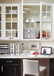 Office in kitchen Minimalist Make Sure You Have Plenty Of Labelled Storage So You Know What Goes Where Ikea Home Office Solution