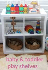 Storage & Organization: Inspiring Outdoor Toy Storage Ideas Including Metal  Rack And Custom Storage Bins