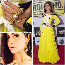 makeup ideas 2016 for yellow dresses 9