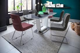 Mca Design Esstisch Xander Ausziehbar 180230x95 Glas Grau