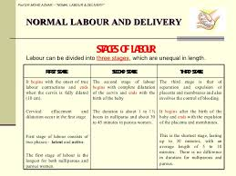 Phases Of Labor Chart 4 Normal Labour And Delivery