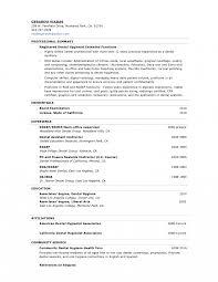 Resume For Dental Assistant Job Dental Hygienist Sample Job Description Hygiene Resume Dental 41