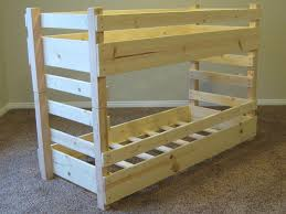bunk bed plans wood project ideas diy