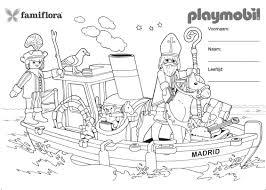 Leuk Voor Kids Playmobil Acrobatiek Te Paard Idee Kleurplaat
