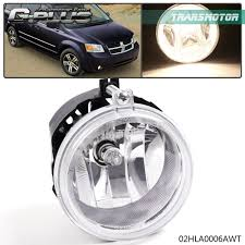 2010 Dodge Avenger Fog Light Bulb Details About Clear Fog Lights Bumper Lamps For Dodge Challenger Charger Nitro Avenger Caliber