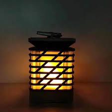 pl99 solar lights candle lights outdoor led lawn lamp decorative torch lights landscape garden flame lights