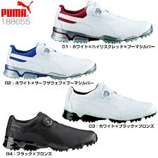 puma golf shoes. puma golf golf mens shoes tour titan ignite premium boa 188655 [0824 rakuten puma