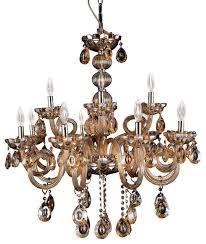 athens 12 light champagne color crystal chandelier chrome finish