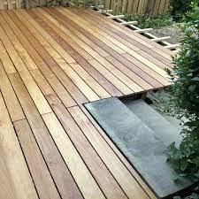 Holzterrasse bauen mit der Bauanleitung für Terrassendielen