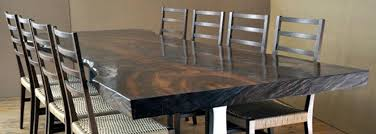 black walnut wood furniture natural solid furniture top quality real black wood table top y12 table