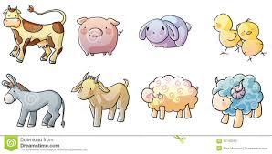cute farm animals drawings. Modren Farm Cute Farm Animals Inside Farm Animals Drawings Dreamstimecom
