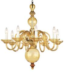 colored crystal chandelier hand blown smooth amber crystal glass chandelier