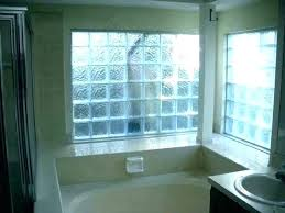 full size of glass block window in shower stall with vent wall bathroom vinyl ideas bathrooms
