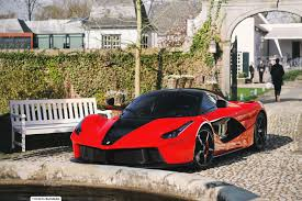 This car was originally delivered to penske wynn ferrari on 12/2/2014. Beautiful Red And Black Laferrari By Thomas Buisman April 23 2016 Image Gallery Auto