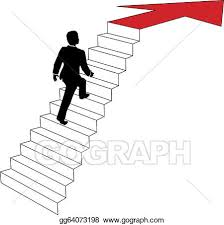 up stairs clipart. Beautiful Clipart Business Man Climbs Up Arrow Stairs For Up Stairs Clipart