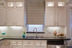 Kitchen Cabinets With Windows Brown Wooden Kitchen Cabinet With Half Curtain Kitchen And Mount