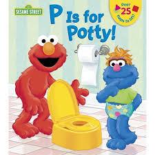 P Is For Potty Board Book Walmart Com