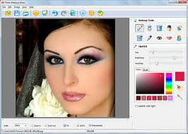 photo makeup editor is a photo retouching and virtual makeup software you can make your photo more beautiful and even change your style