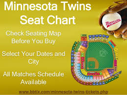 Twins Stadium Seating Chart Minnesota Twins Tickets Cheap