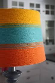 Diy Lamp Shades Stunning DIY Lampshade Redoround Shade Yarn Spray Adhesivelink To