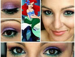 disney little mermaid makeup tutorials how to beauty looks