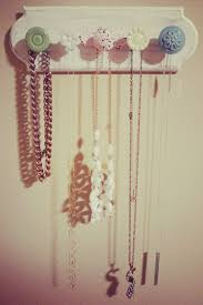 Diy Necklace Holder Cute Diy Necklace Holder Could Also Be Used As A Baby Headband