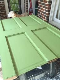 painted door how to build a daybed from old doors thediybungalow