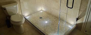 ... Led Shower Lighting How To Open Shower Light Fixture With Calmly Prev  Next Walk Shower Remodel ...